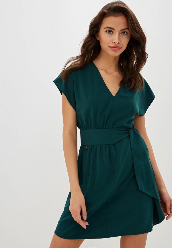 Patrizia Pepe | зеленый Зеленое платье Patrizia Pepe | Clouty