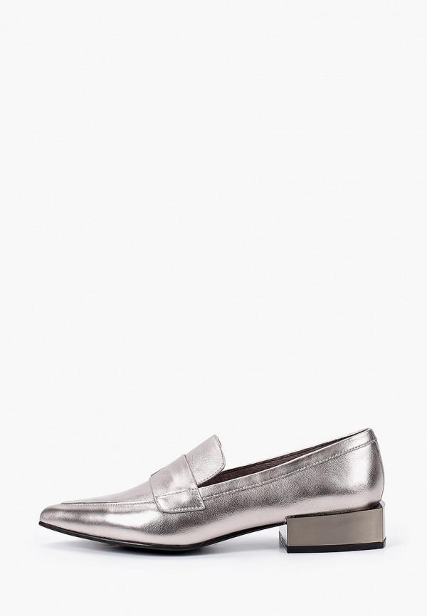 Paolo Conte | серебряный Женские серебряные лоферы Paolo Conte резина | Clouty