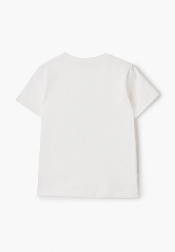Petit Bateau   белый Белая футболка Petit Bateau для мальчиков   Clouty