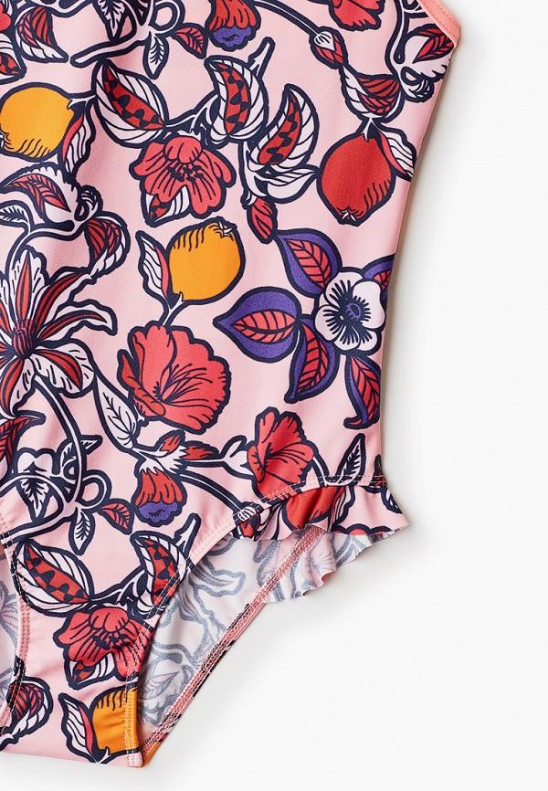 Petit Bateau | Летний розовый купальник Petit Bateau для девочек | Clouty