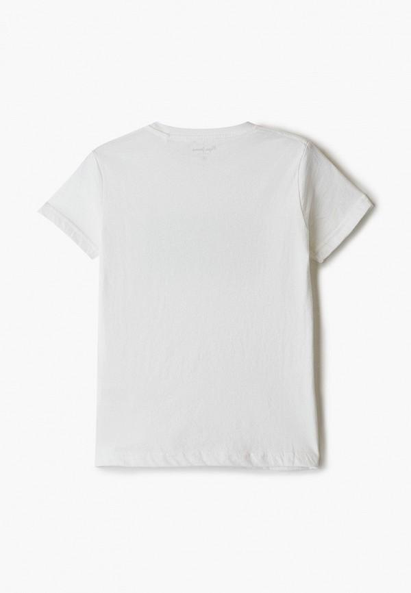 Pepe Jeans | белый Белая футболка Pepe Jeans для мальчиков | Clouty