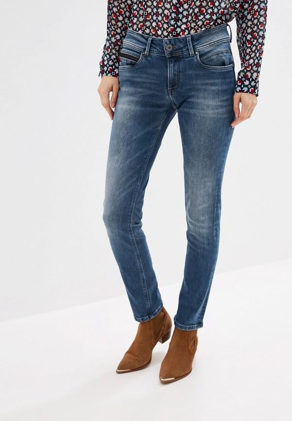 Pepe Jeans | синий Женские синие джинсы Pepe Jeans | Clouty