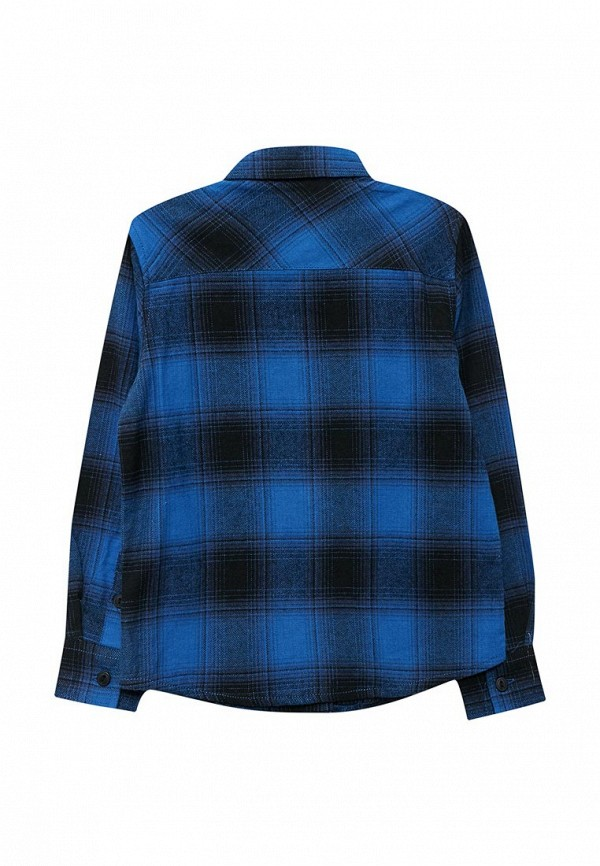 Piazza Italia | синий Синяя рубашка Piazza Italia для мальчиков | Clouty