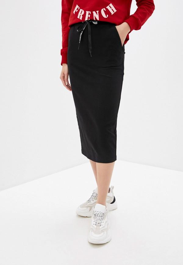 Pink Frost | черный Черная юбка Pink Frost | Clouty