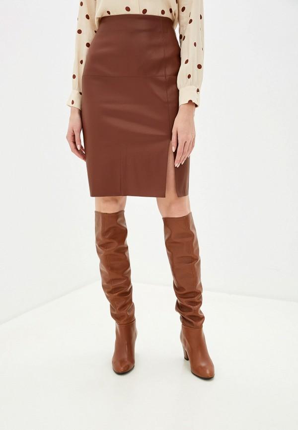 Pimkie | коричневый Коричневая юбка Pimkie | Clouty