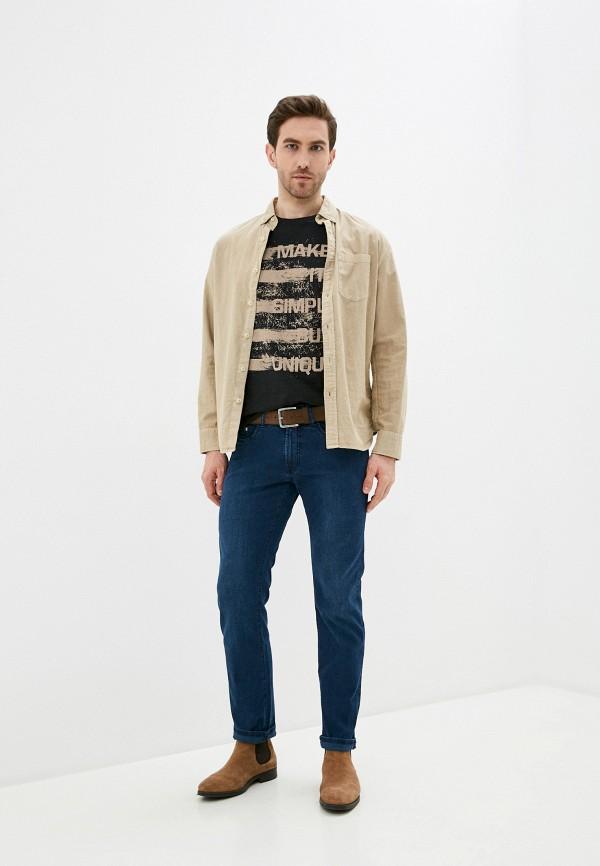 Pierre Cardin | синий Мужские синие джинсы Pierre Cardin | Clouty
