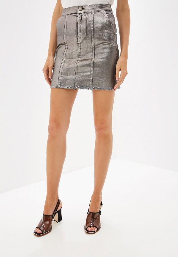 PINKO | серебряный Серебряная юбка PINKO | Clouty