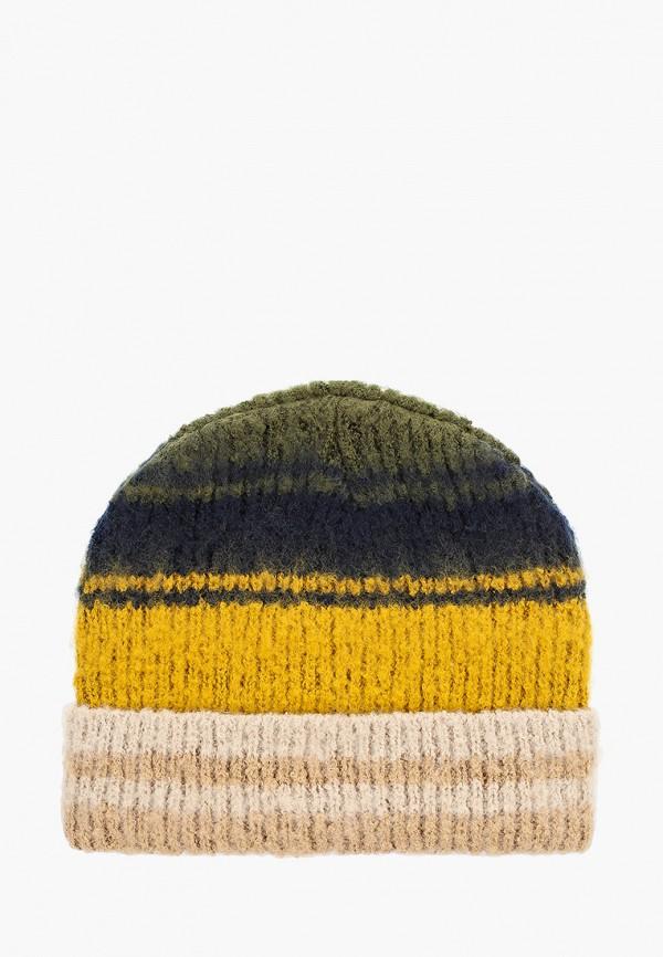 Pieces | мультиколор Женская зимняя шапка Pieces | Clouty