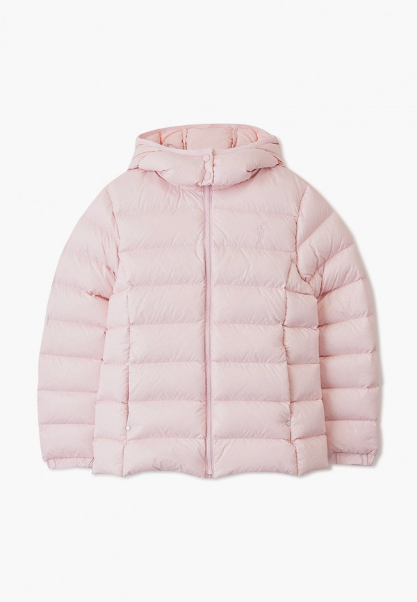 POLO RALPH LAUREN | Зимний розовый пуховик POLO RALPH LAUREN для девочек | Clouty
