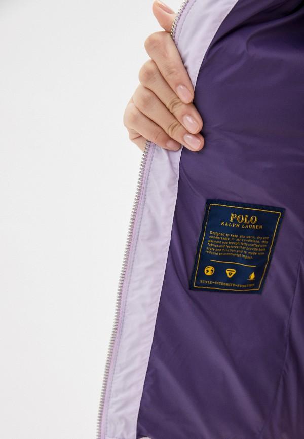 POLO RALPH LAUREN   фиолетовый Жилет утепленный Polo Ralph Lauren   Clouty