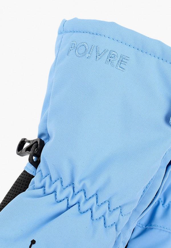 Poivre Blanc | голубой Варежки Poivre Blanc | Clouty