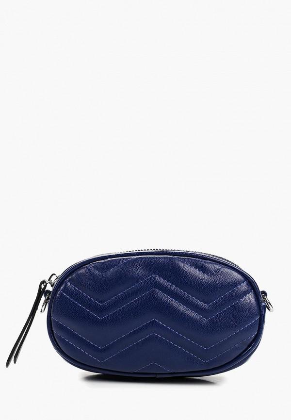 Pur Pur | синий Женская синяя поясная сумка Pur Pur | Clouty