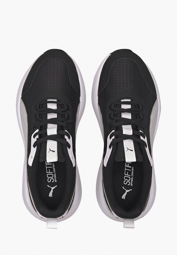 Puma | черный Женские черные кроссовки Puma искусственный материал | Clouty