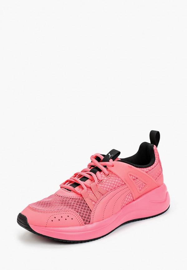 Puma | розовый Женские розовые кроссовки Puma резина | Clouty