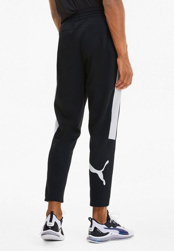 Puma | черный Мужские черные спортивные брюки Puma | Clouty