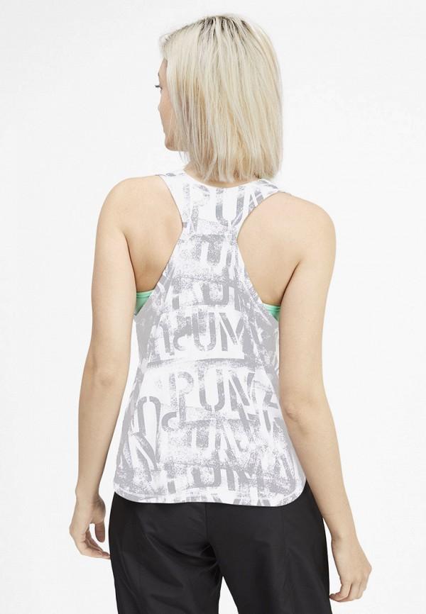 Puma | серый Женская серая спортивная майка Puma | Clouty