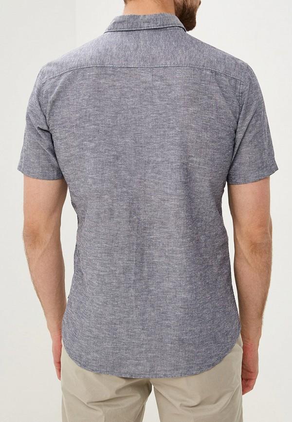 Q/S designed by | синий Мужская синяя рубашка Q/S designed by | Clouty