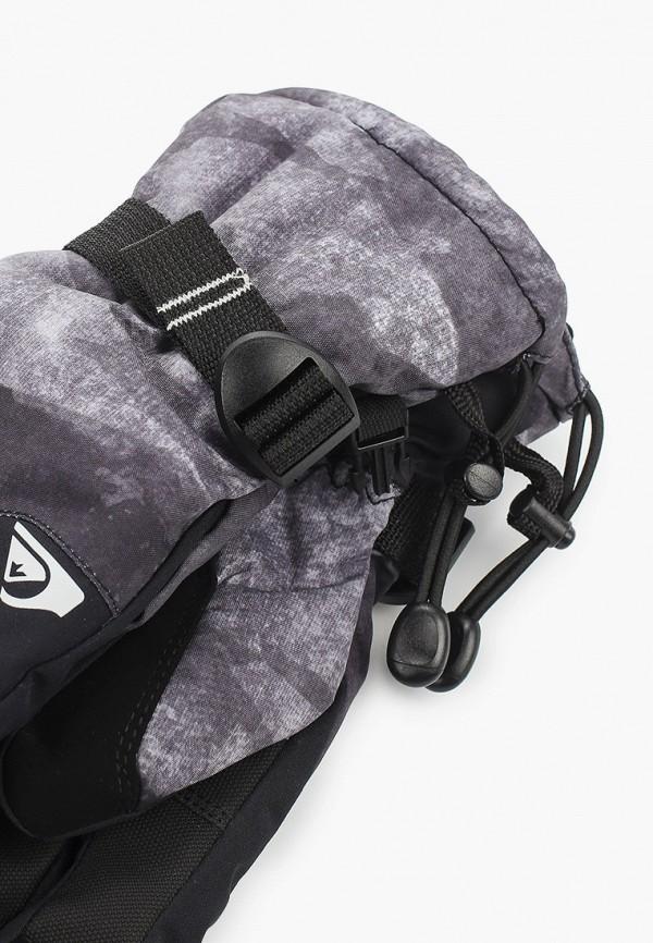 QUIKSILVER | черный Зимние черные горнолыжные перчатки QUIKSILVER для мальчиков | Clouty
