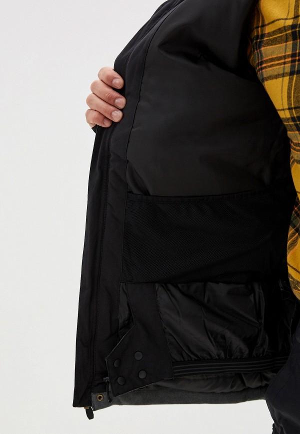 QUIKSILVER | серый Мужская зимняя серая горнолыжная куртка QUIKSILVER | Clouty