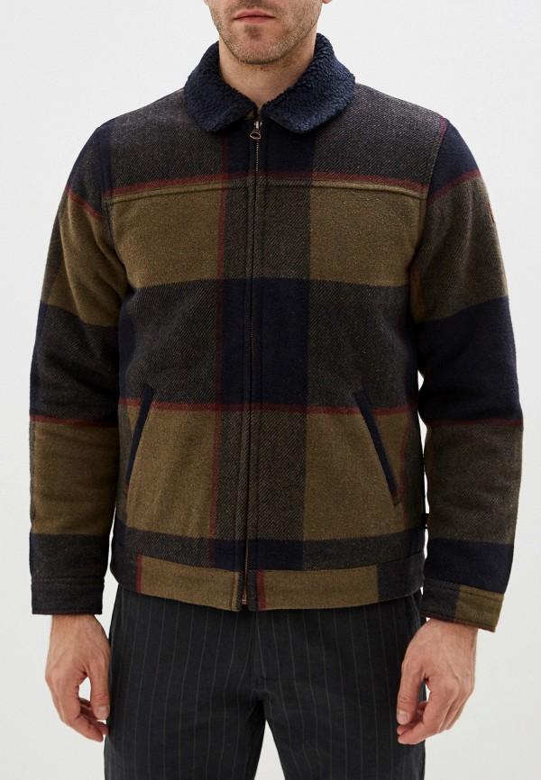 QUIKSILVER | хаки Мужская утепленная куртка QUIKSILVER | Clouty
