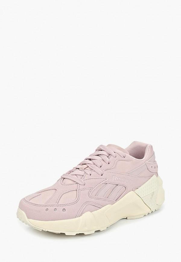 REEBOK   розовый Розовые кроссовки REEBOK искусственный материал   Clouty
