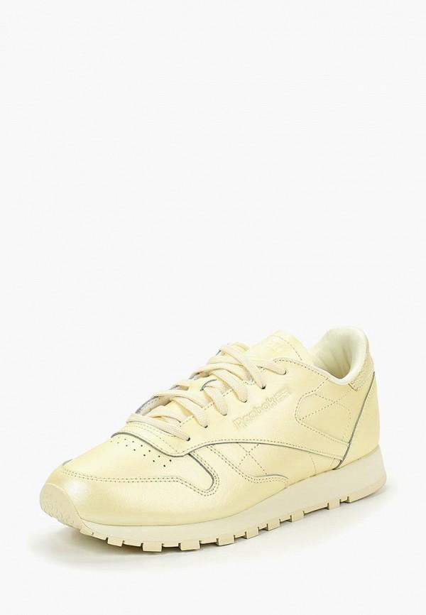 REEBOK | желтый Женские желтые кроссовки REEBOK резина | Clouty