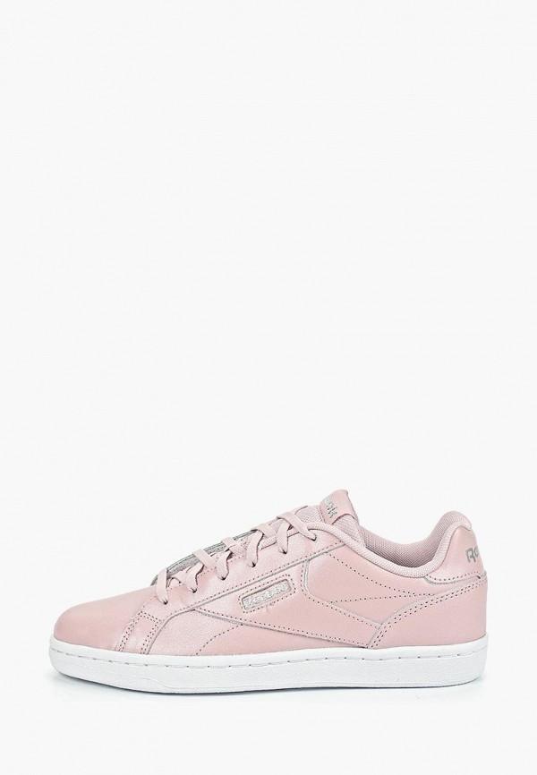 REEBOK   розовый Женские розовые кеды REEBOK резина   Clouty