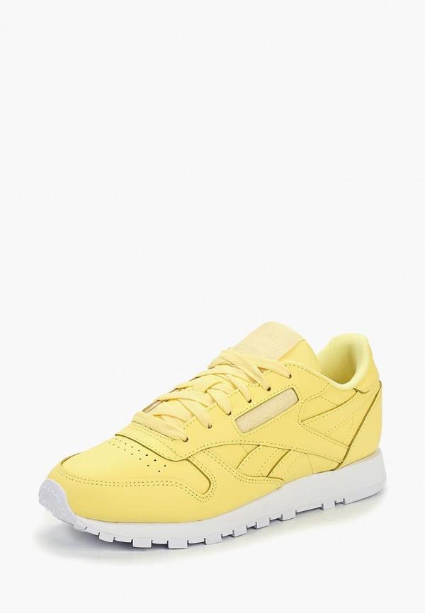 REEBOK | желтый Женские желтые кроссовки REEBOK полиуретан | Clouty