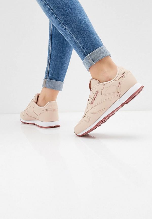 REEBOK | розовый Женские розовые кроссовки REEBOK резина | Clouty