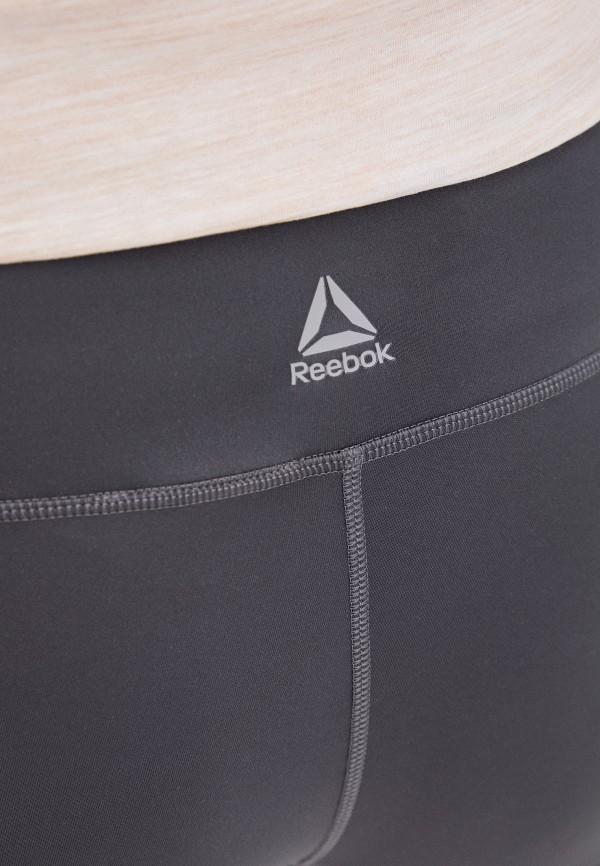 REEBOK | серый Женские серые леггинсы REEBOK | Clouty