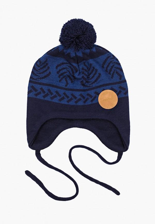 Reima | синий Зимняя синяя шапка Reima для мальчиков | Clouty