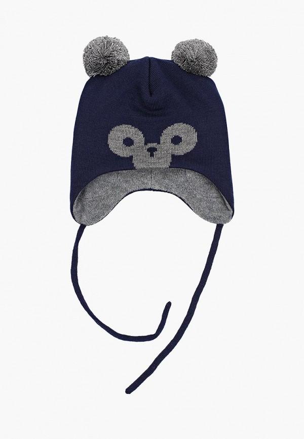 Reima   синий Зимняя синяя шапка Reima для мальчиков   Clouty