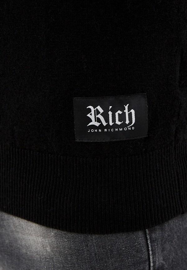Rich John Richmond | Мужской черный джемпер Rich John Richmond | Clouty