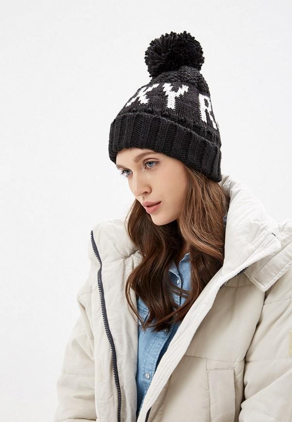 Roxy | черный Женская черная шапка Roxy | Clouty