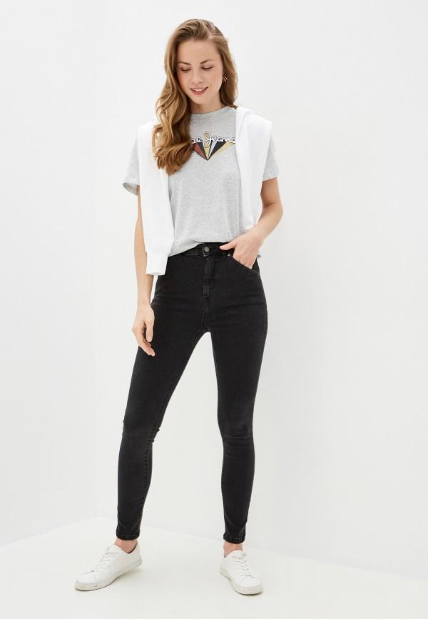 Roxy | черный Женские черные джинсы Roxy | Clouty