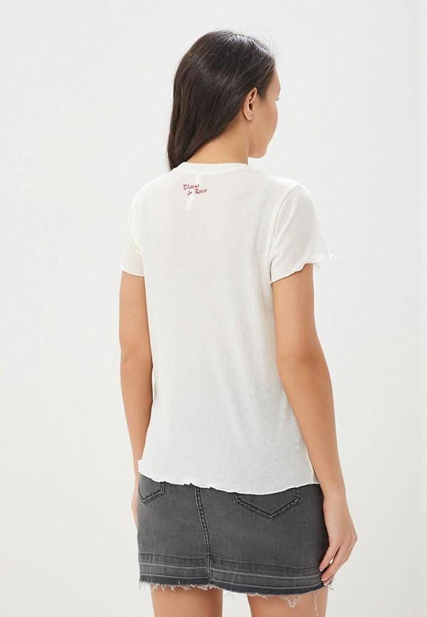 RVCA   белый Женская белая футболка RVCA   Clouty