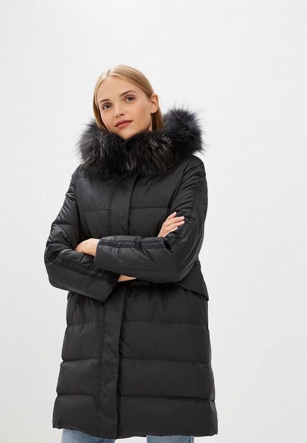 SAVAGE | Женский зимний черный пуховик SAVAGE | Clouty