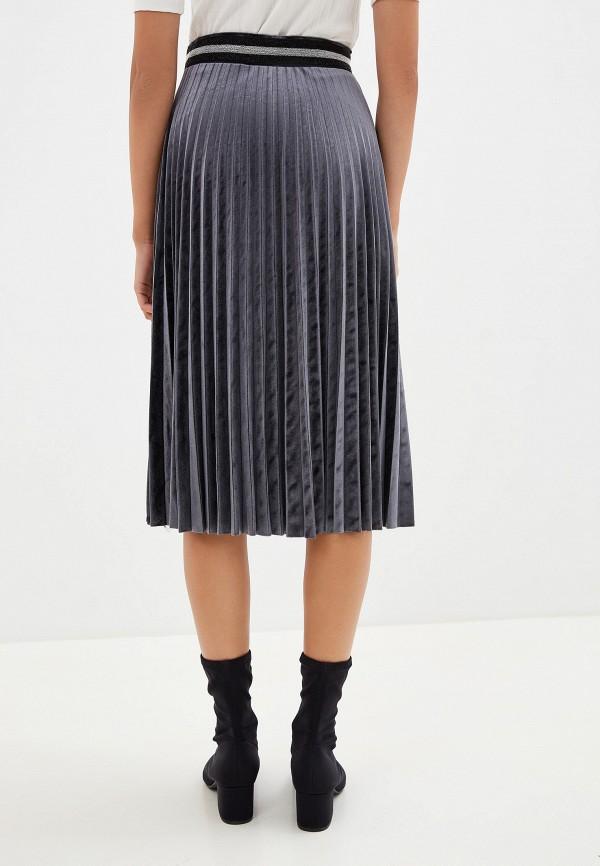 SAVAGE | серый Женская серая юбка SAVAGE | Clouty