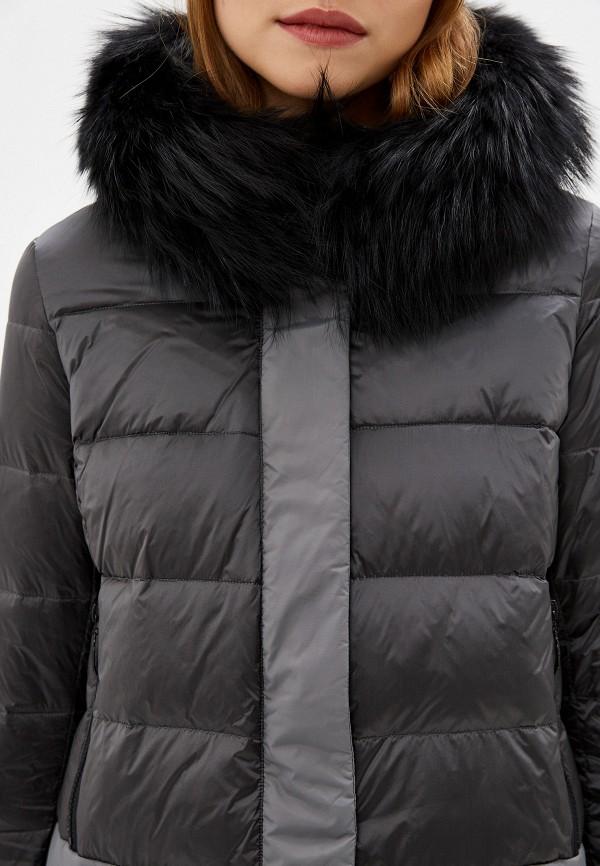 SAVAGE | Женский зимний серый пуховик SAVAGE | Clouty