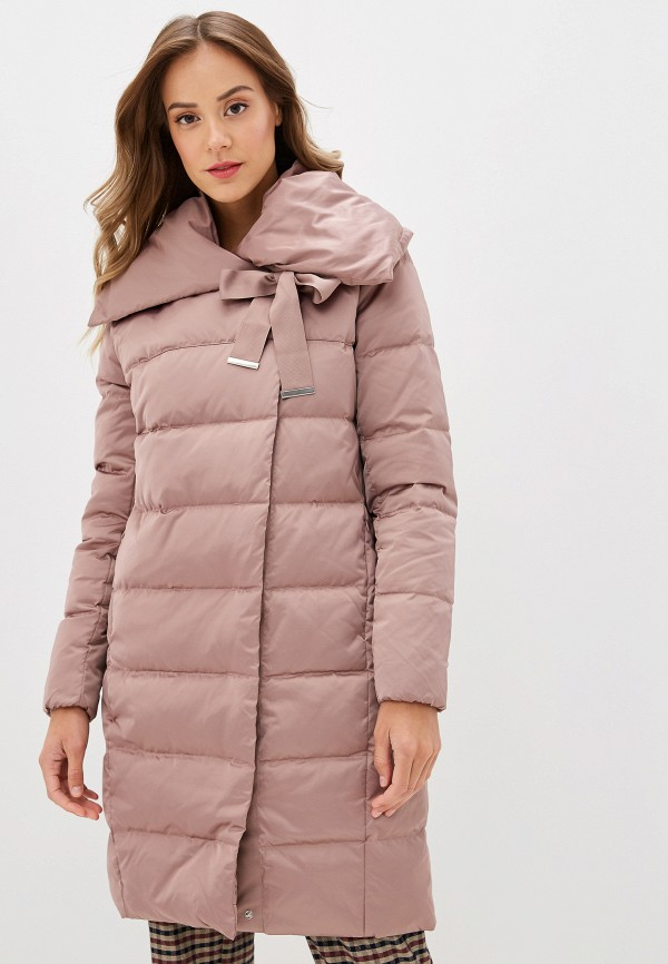 SAVAGE   Женский зимний розовый пуховик SAVAGE   Clouty