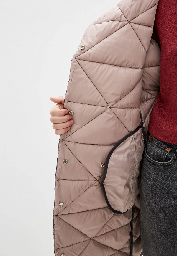 SAVAGE | серый Женская зимняя серая утепленная куртка SAVAGE | Clouty