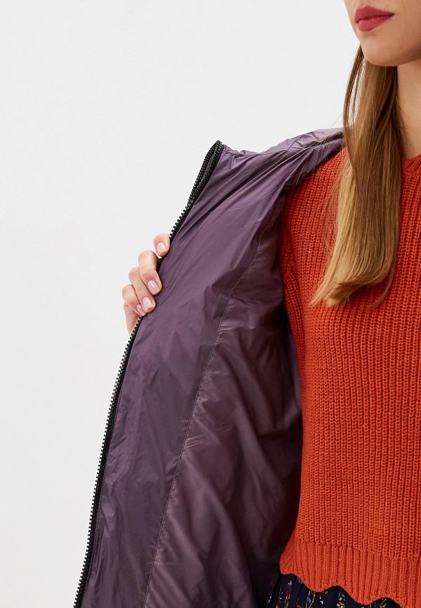 SAVAGE | фиолетовый Женская зимняя фиолетовая утепленная куртка SAVAGE | Clouty