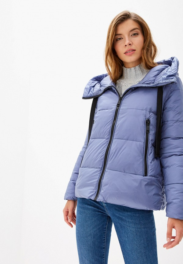SAVAGE | голубой Женская зимняя голубая утепленная куртка SAVAGE | Clouty