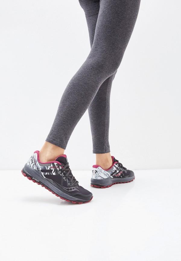 Saucony | черный Женские черные кроссовки Saucony резина | Clouty