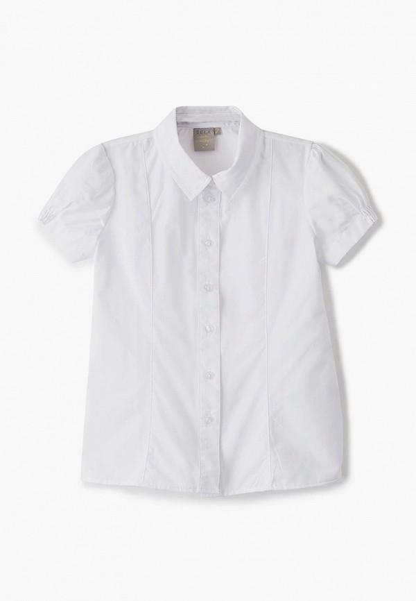 Sela | белый Белая блуза Sela для девочек | Clouty