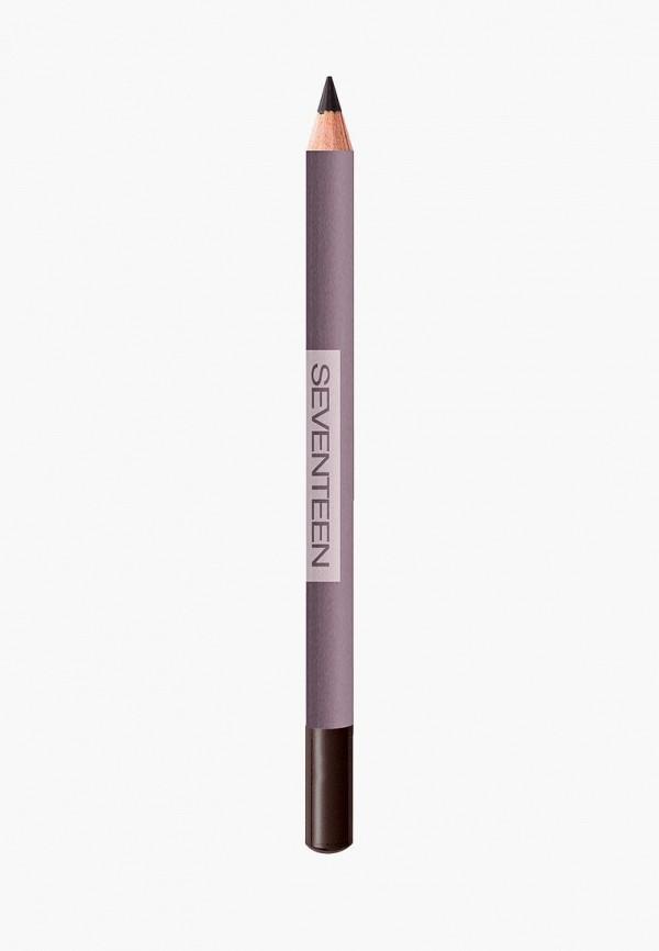 Seventeen. | Коричневый карандаш для глаз Seventeen. | Clouty