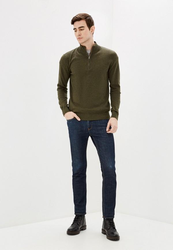 Selected Homme | хаки Мужской зимний свитер Selected Homme | Clouty