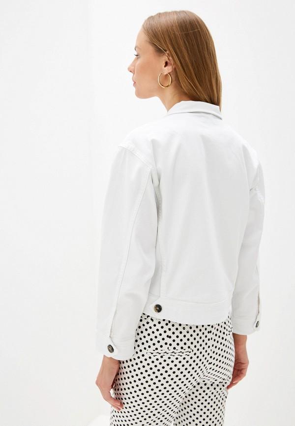 Selected Femme | белый Женская белая джинсовая куртка Selected Femme | Clouty