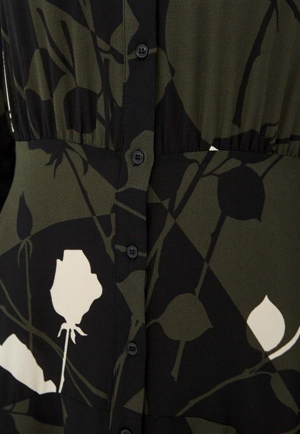 Sisley | хаки Платье Sisley | Clouty