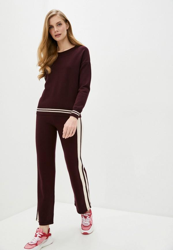 Silvian Heach | Женский бордовый костюм Silvian Heach | Clouty